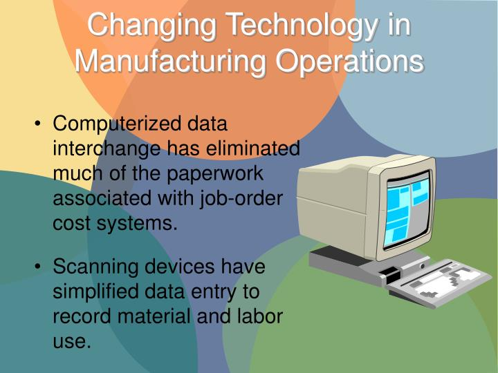 Changing Technology in Manufacturing Operations