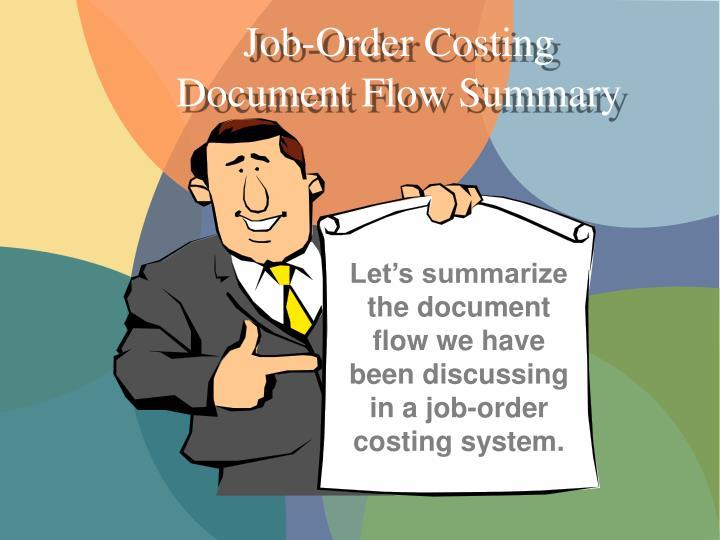 Job-Order Costing