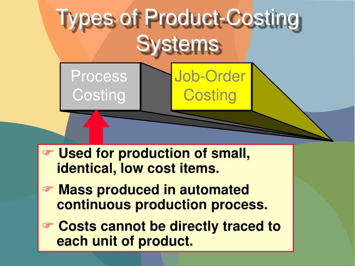 Used for production of small,