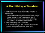 a short history of television1