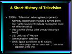 a short history of television2