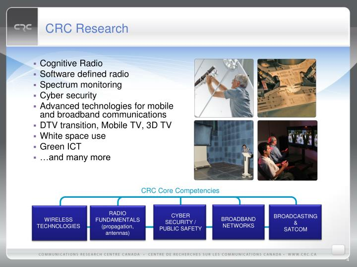 CRC Research