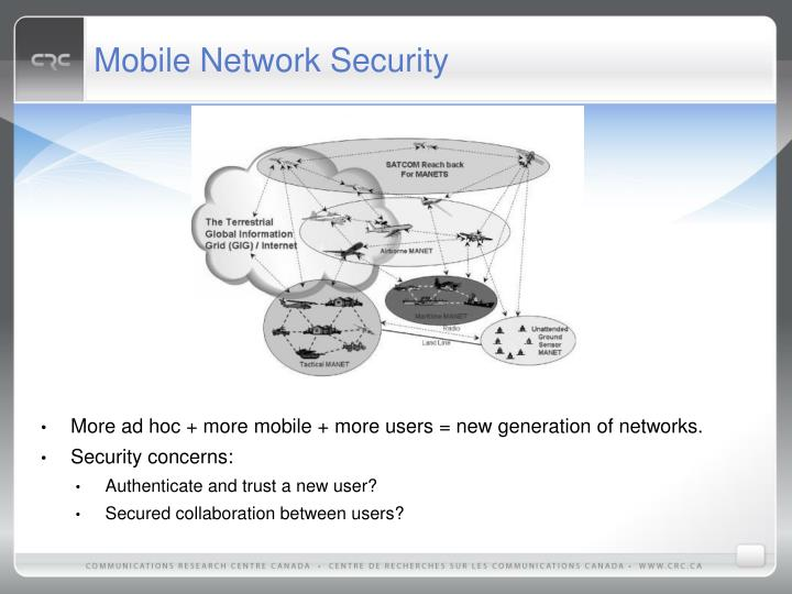 Mobile Network Security