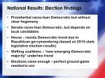 national results election findings