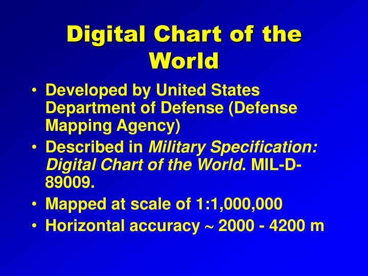 Digital Chart of the World