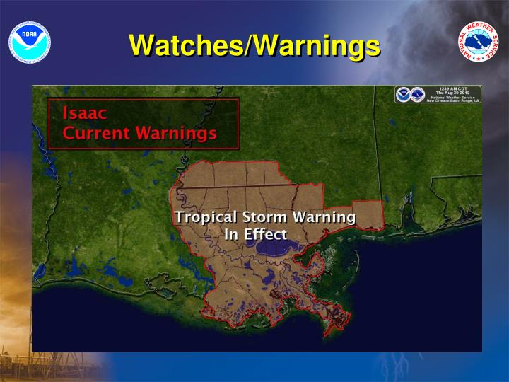 Watches/Warnings