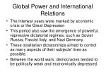 global power and international relations1