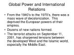 global power and international relations2