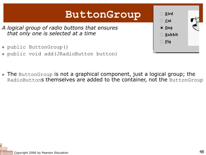 ButtonGroup