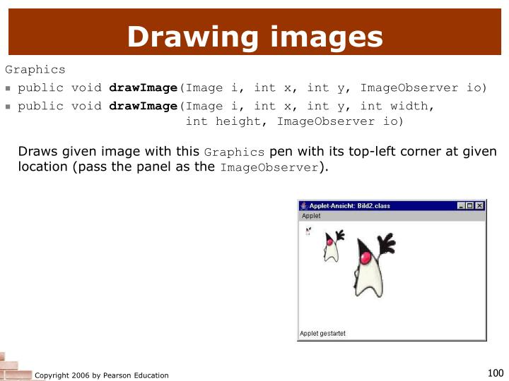 Drawing images