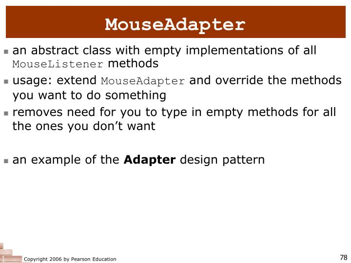 MouseAdapter