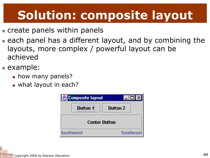 Solution: composite layout