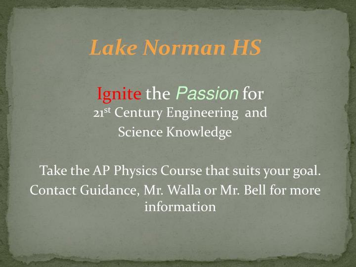 Lake Norman HS