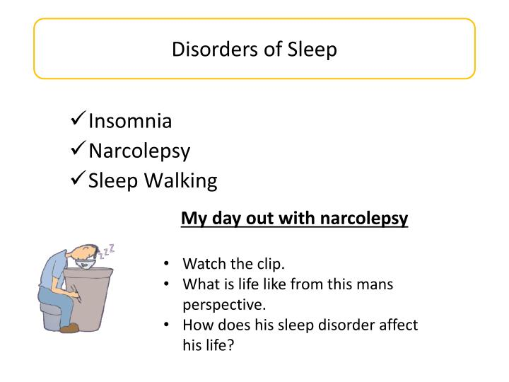 Disorders of Sleep