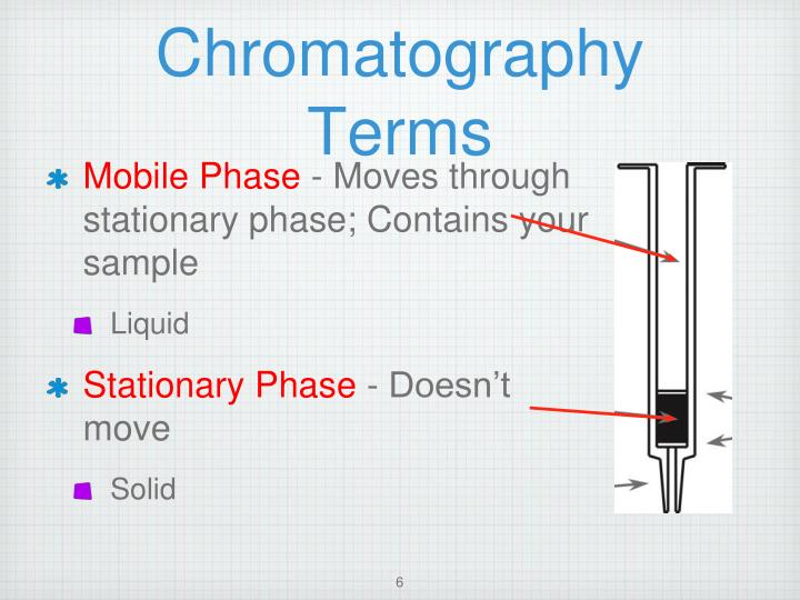 what does paper chromatography mean