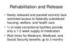 rehabilitation and release1