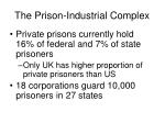 the prison industrial complex1