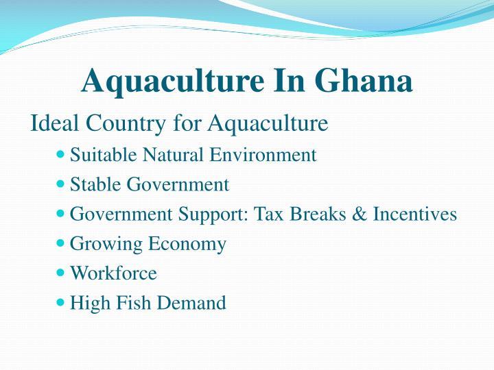 Aquaculture In Ghana