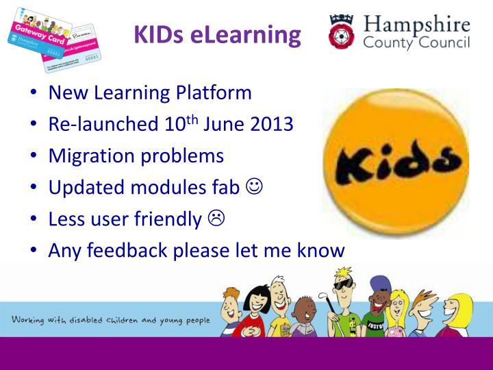 KIDs eLearning