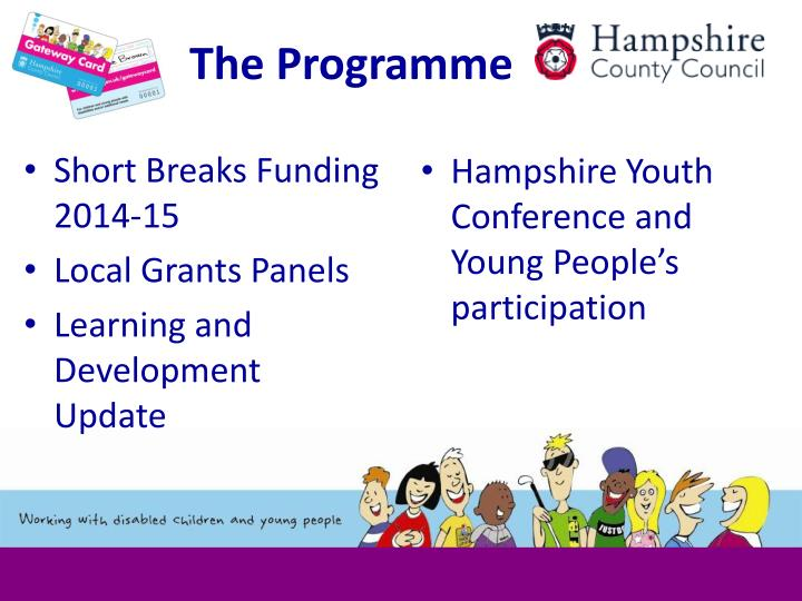 Short Breaks Funding 2014-15