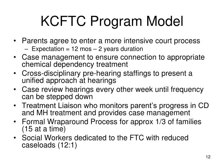 KCFTC Program Model