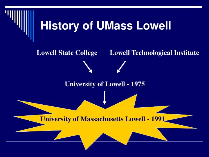 University of Massachusetts Lowell - 1991