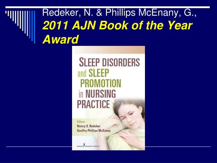 Redeker, N. & Phillips McEnany, G.,