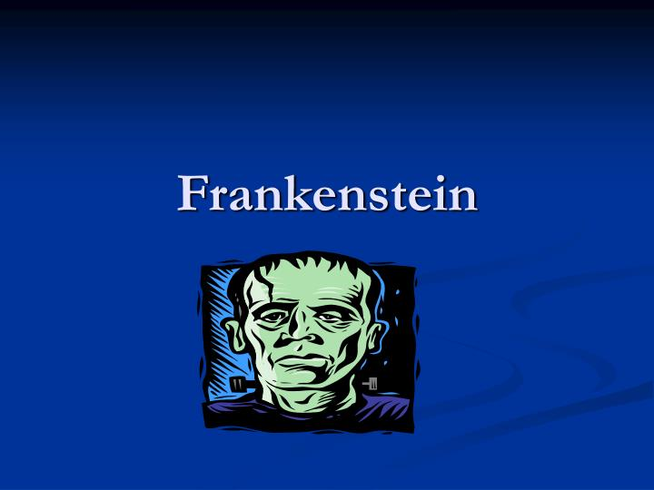 good thesis on frankenstein