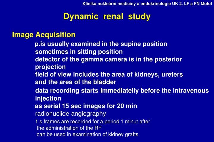 Dynamic  renal  study