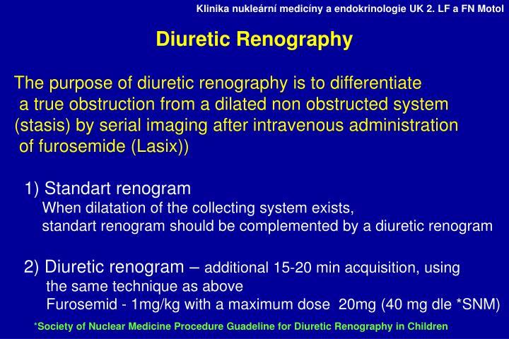 Diuretic Renography