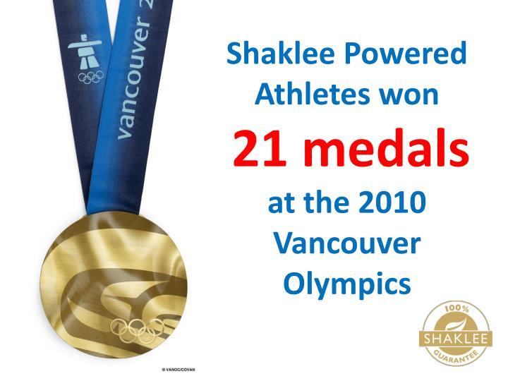 Shaklee Powered Athletes won