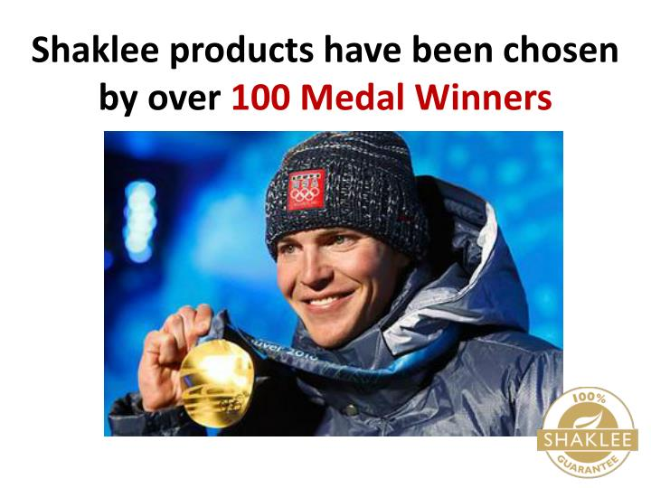 Shaklee products have been chosen by over