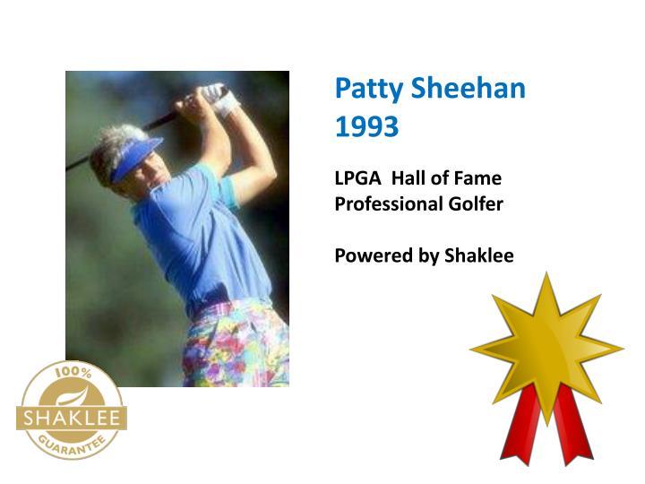 Patty Sheehan  1993