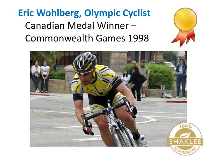 Eric Wohlberg, Olympic Cyclist
