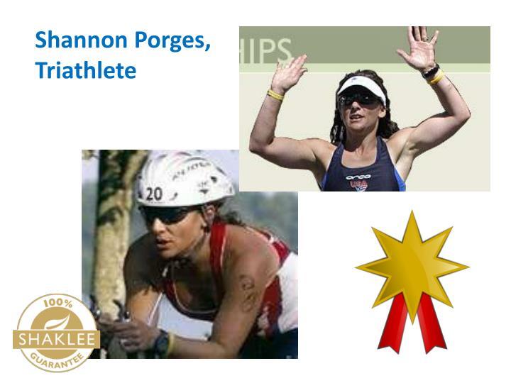 Shannon Porges, Triathlete