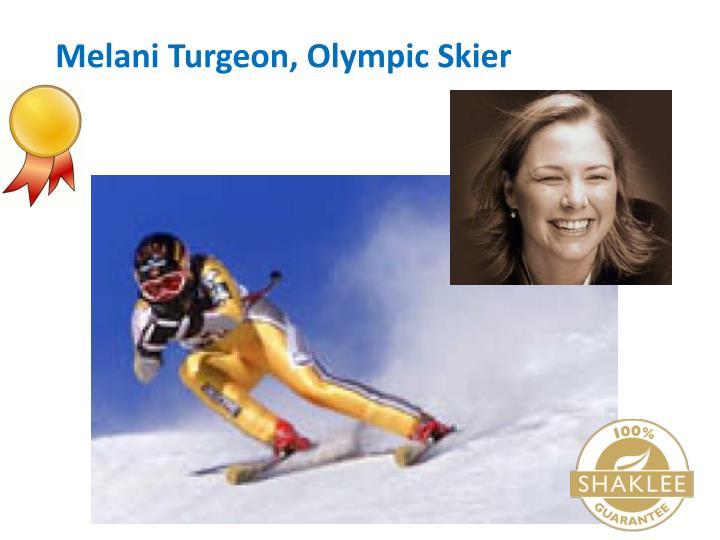 Melani Turgeon, Olympic Skier