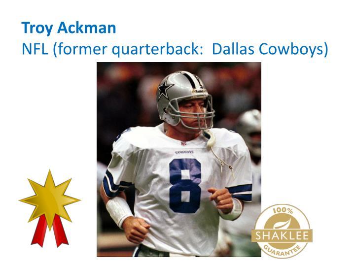 Troy Ackman