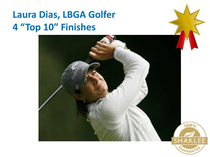 Laura Dias, LBGA Golfer