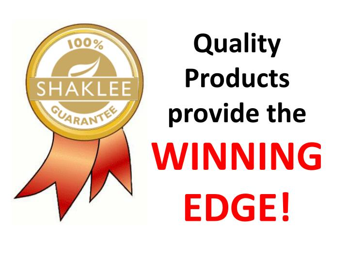 Quality Products provide the