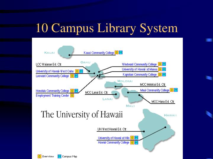 10 Campus Library System