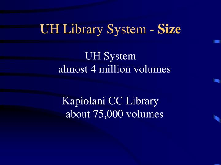 UH Library System -
