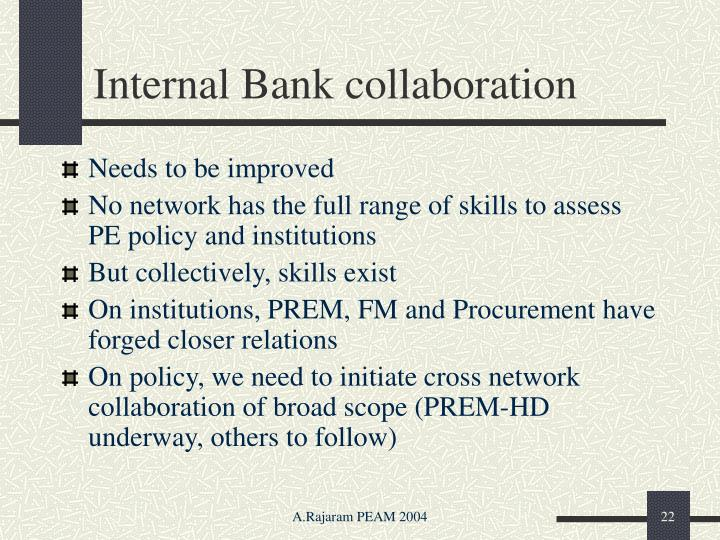 Internal Bank collaboration