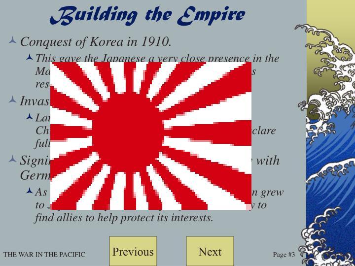 Building the Empire