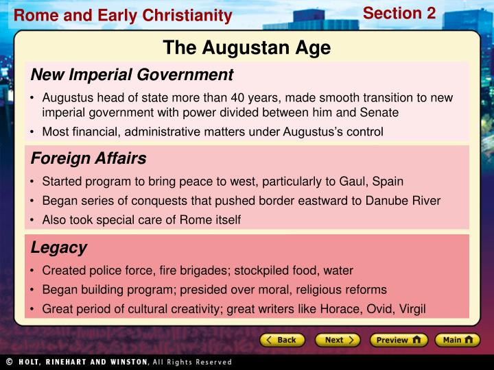 The Augustan Age