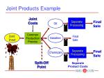 joint products example