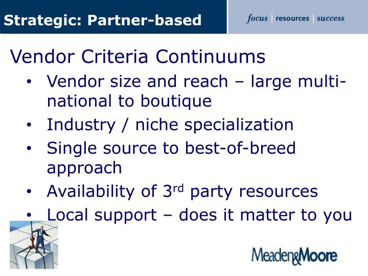 Strategic: Partner-based