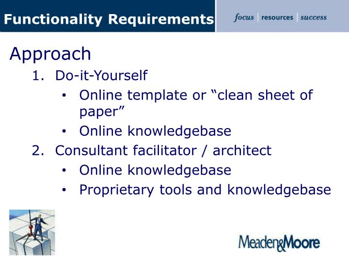 Functionality Requirements