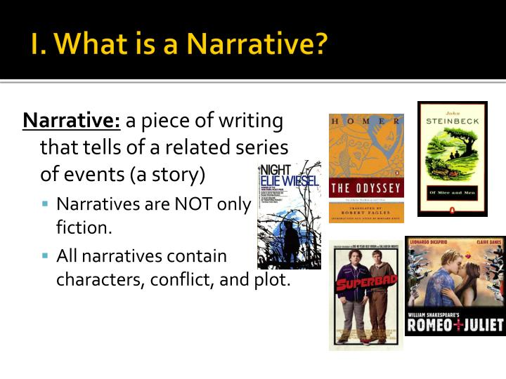 I. What is a Narrative?