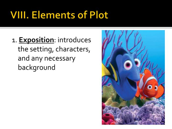 VIII. Elements of Plot