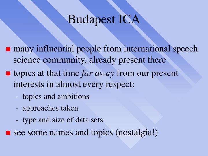 Budapest ICA